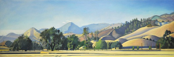 Hank Pitcher's <em>Sedgewick Valley Evening</em> (2013)