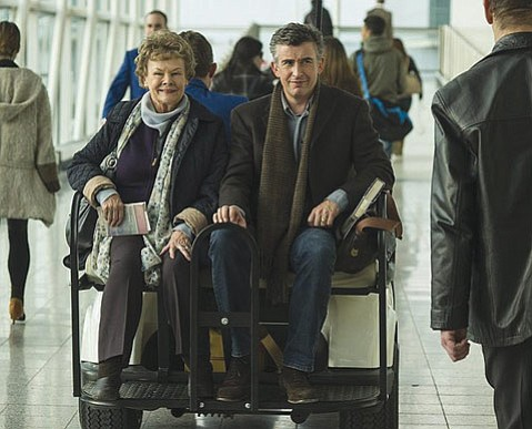 <b>THE TRIP:</b> In Philomena, Steve Coogan plays real-life reporter Martin Sixsmith opposite Judi Dench as a woman searching for the illegitimate son she was forced to give up.