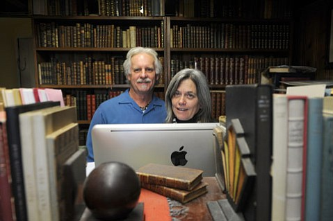 <b>LOST HORIZON:</b>  Jerry Jacobs and Angela Perko's bookstore turns 30, and they're having a sale to celebrate.