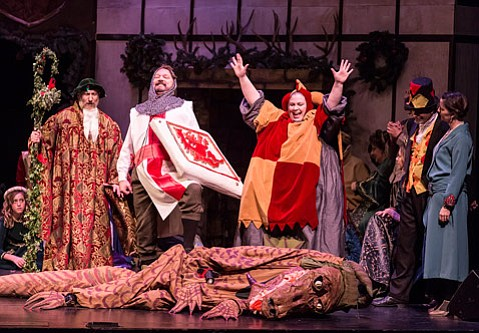 review the christmas revels at the lobero theatre - The Christmas Revels
