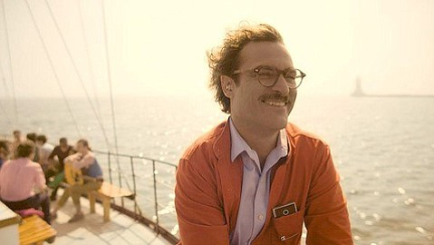 <b>SIRI-OUS RELATIONSHIP:</b>  Joaquin Phoenix stars as a man falling for his personalized operating system in Spike Jonze's off-beat love story <i>Her</i>.