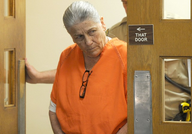 Penny Estes at her sentencing hearing