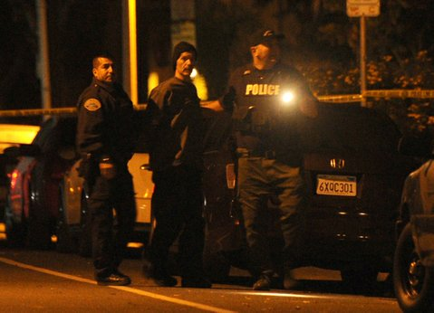 The suspect in the Bath Street standoff was taken in to custody at approximately 2:30 a.m.