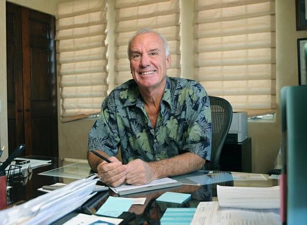 Santa Barbara-based Hutton Parker Foundation CEO Tom Parker (Jan. 14, 2014)