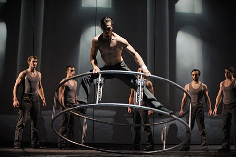 UCSB Arts & Lectures brings the contemporary circus company back to town with <em>Cirkopolis</em> at the Granada Theatre on Monday, February 3.
