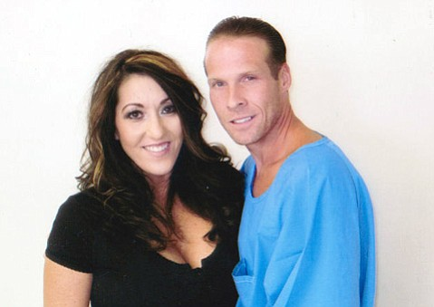 After many letters back and forth and hours of conversation over the phone, Melinda and Jesse James Hollywood met in person for the first time in June 2013