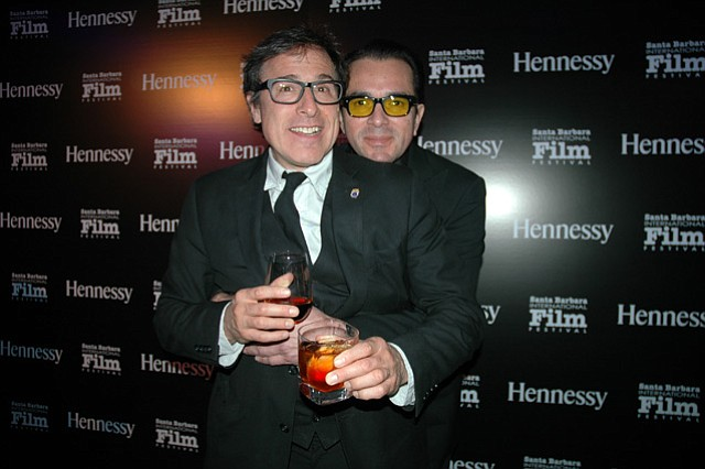 David O. Russell and Roger Durling