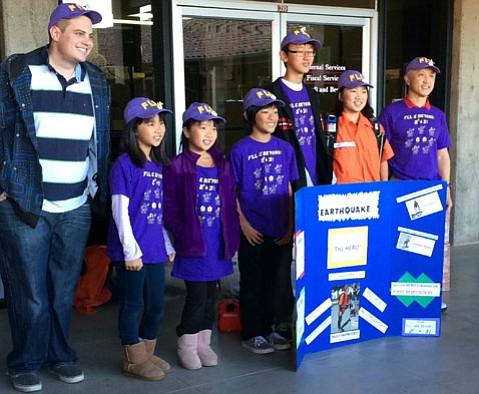 Santa Barbara kids learn robotics and engineering using the linkable plastic bricks.