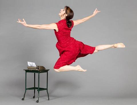 "<b>TURN, TURN, TURN:</b> Melissa Block performs in ""Alma,"" just one of the dances in this week's Kinesis program."