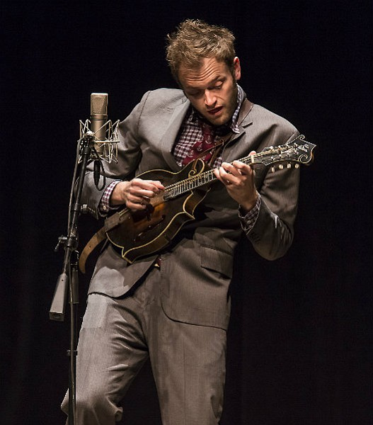 LIKE A PUNCH IN THE FACE: The Punch Brothers' Chris Thile delivered an impassioned take on the works of  J.S. Bach at the Lobero Theatre.