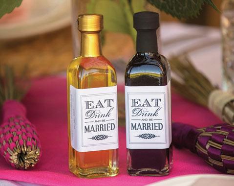 Oil And Vinegar Wedding Favors Gallery - Wedding Decoration Ideas