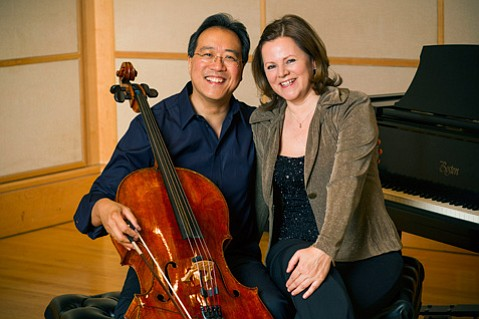 Yo-Yo Ma and Kathryn Stott