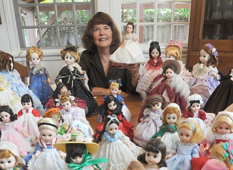 "<b>FOR THE LOVE OF DOLLS:</b> Kay Chambers (pictured) started to ""rescue"" and restore Madame Alexander dolls later in life. Currently, she has a modest 40-doll count to her name."