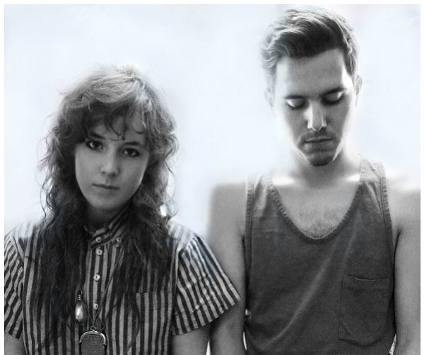 Purity Ring's Megan James and Corin Roddick. James deejays at EOS on March 8.