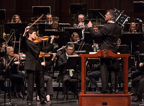 review santa barbara symphony at the granada theatre