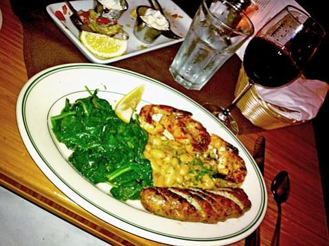 Grilled Shrimp and Sausage