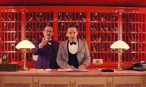 <em>The Grand Budapest Hotel</em>