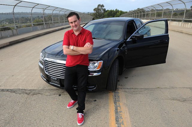 Justin Plackett of A&J Limousine and Santa Barbara Hot Rod Limo (March 23, 2014)