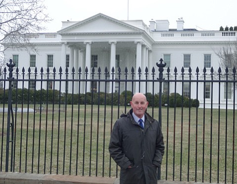 <b>WORSHIP AND WEATHER:</b>  In February, ECOFaith chair Ivor John joined other faith leaders at the White House to talk about the intersection of religion and climate change.