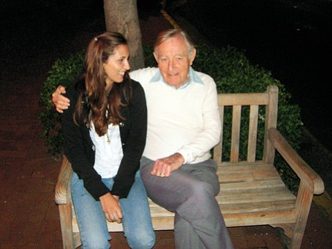 <b>SOCKS AND ALL:</b> Allie Cole remembers the stockinged hours she and her grandfather Jack Earl Smith spent together, just messing around on his sunlit porch.