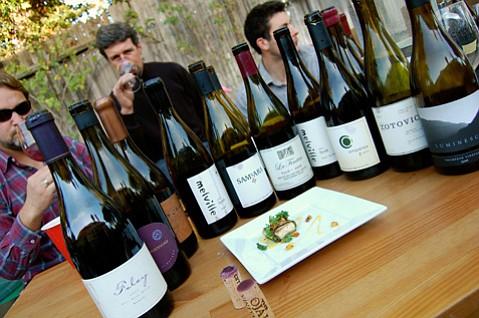 <b>BOTTLES TO KNOW:</b> Among the 18 cool-climate syrah tasted were wines from Ampelos, Bonaccorsi, Gainey, Foley, Jaffurs, La Fenêtre, Luminesce, Melville, Ojai Vineyard, Samsara, Vallin, and Zotovich.