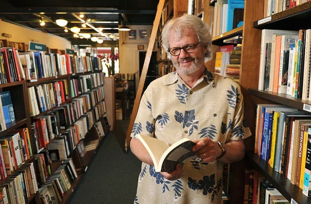 Eric Kelley celebrates 35 years as owner of the Book Den.