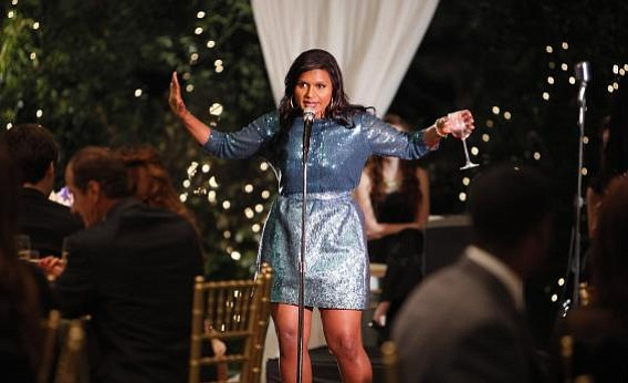 LADY'S NIGHT: <em>The Office</em>'s Mindy Kaling stars in <em>The Mindy Project</em>, which airs Tuesday nights on Fox.