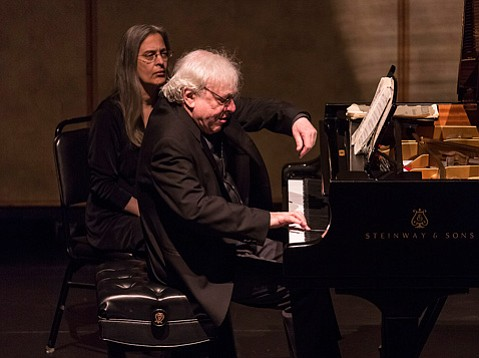 Richard Goode at the Lobero Theatre