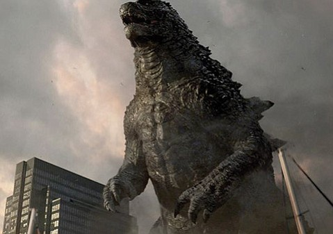 <b>KING OF THE MONSTERS:</b>  Gareth Edwards's Godzilla is both impressive and cheesy.