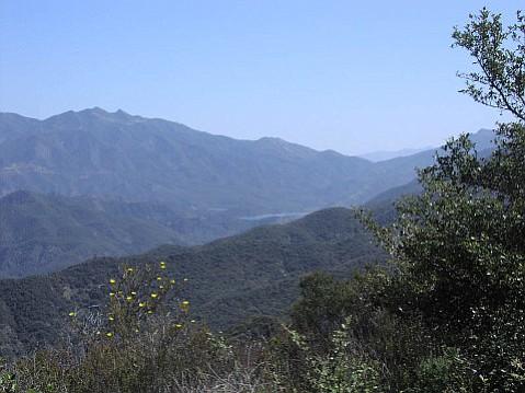 Los Padres National Forest, viewed toward Reyes Peak
