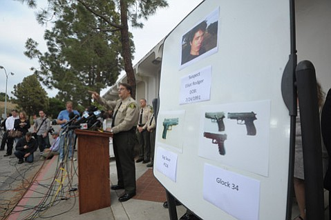 Sheriff Bill Brown at the May 24th press conference.