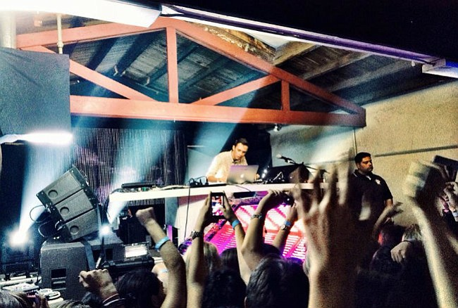 LIGHT UP THE NIGHT: This past April. We the Beat presented Australian electronic artist Flume to a sold-out crowd at Santa Barbara's La Casa de la Raza.