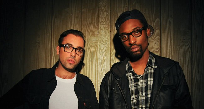 """REMIX MASTERS: The Knocks' Ben """"B-Roc"""" Ruttner (left) and James """"JPatt"""" Patterson bring the dance party to S.B. on Wednesday, June 2."""