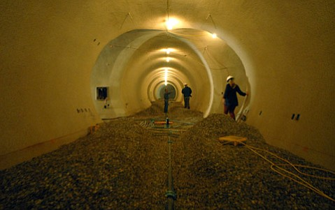 Star Lane winery's cellars under construction in 2007