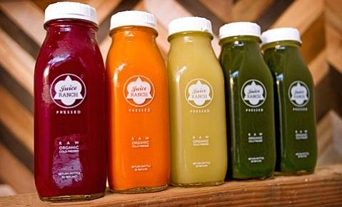 Juice Ranch juices.