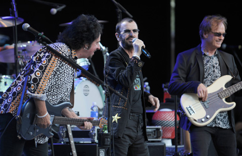 Review: Ringo Starr and His All Starr Band at the Santa ...
