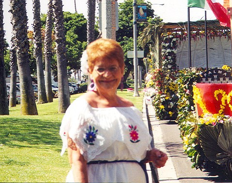 Jeanice Lugo on Fiesta day