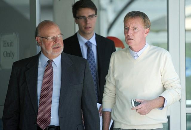 David Lack (right)
