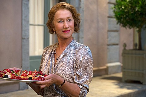 CURRYING DISFAVOR:  A French restaurateur (Helen Mirren) is none too pleased when an Indian eatery sets up shop across the street in The Hundred-Foot Journey.