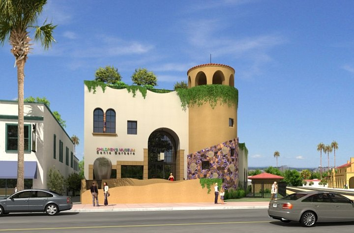 An artist rendering of the Children's Museum of Santa Barbara slated for 125 State Street