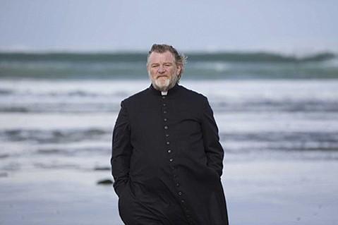 <b>SHADOW OF DEATH:</b>  Brendan Gleeson plays a priest whose life is threatened in Calvary.