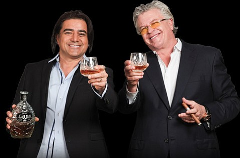 Comedians Alex Reymundo and Ron White don't laugh about their quality liquor.