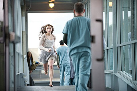 HALLWAY TO HEAVEN?  Chloë Grace Moretz plays a comatose teen having an out-of-body experience in If I Stay.