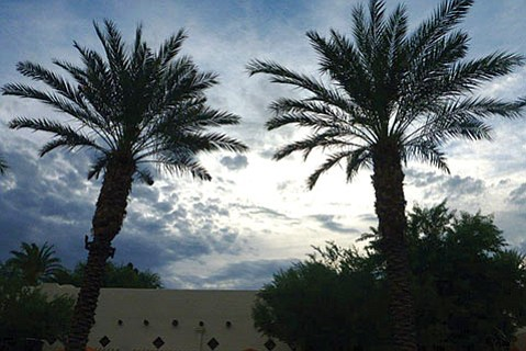 <b>STORMY WEATHER:</b>  It's not just the weather in Arizona that turns dark and cloudy but politics, too.