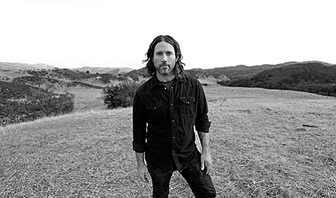 <b>TAKE ME HOME, COUNTRY ROADS:</b>  Chuck Ragan goes the solo route during his September 16 Santa Barbara stopover.