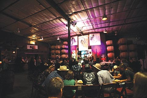 <b>SONIC PAIRINGS:</b>  Sunday night's performance by Nashville singer/songwriter Patrick Sweany was just the latest for Standing Sun Live, winemaker John Wright's music series that's brought 60 bands so far to Buellton.