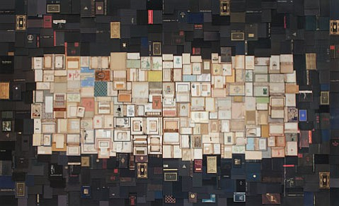 "<b>BOUND FOR GLORY:</b> Nancy Gifford's ""Lament"" installation is just one of the standout pieces in Requiem for the Bibliophile, a group show currently on display at the Museum of Contemporary Art Santa Barbara."