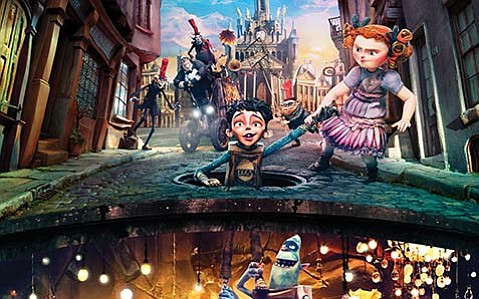 FUN FOR ALL:  Produced by stop-motion animation studio Laika (Coraline, ParaNorman), The Boxtrolls is a pitch-perfect treat for kids and adults alike.