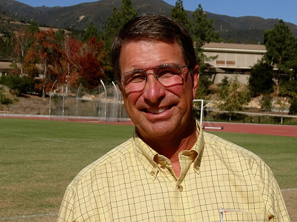 Russell Smelley, a faculty member and athletics coach at Westmont College.