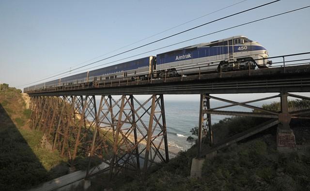 Vista Point train trestle